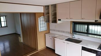 キッチンリフォーム(京都市のT様邸) BEFORE